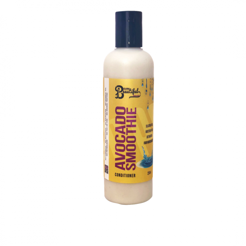 Bourn Beautiful Naturals Avocado Smoothie Conditioner (250ml) Hair Popp UK black hair shop