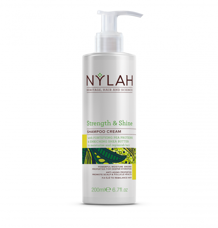 Nylah Strength and Shine Shampoo cream Hair Popp UK Black Hair Shop