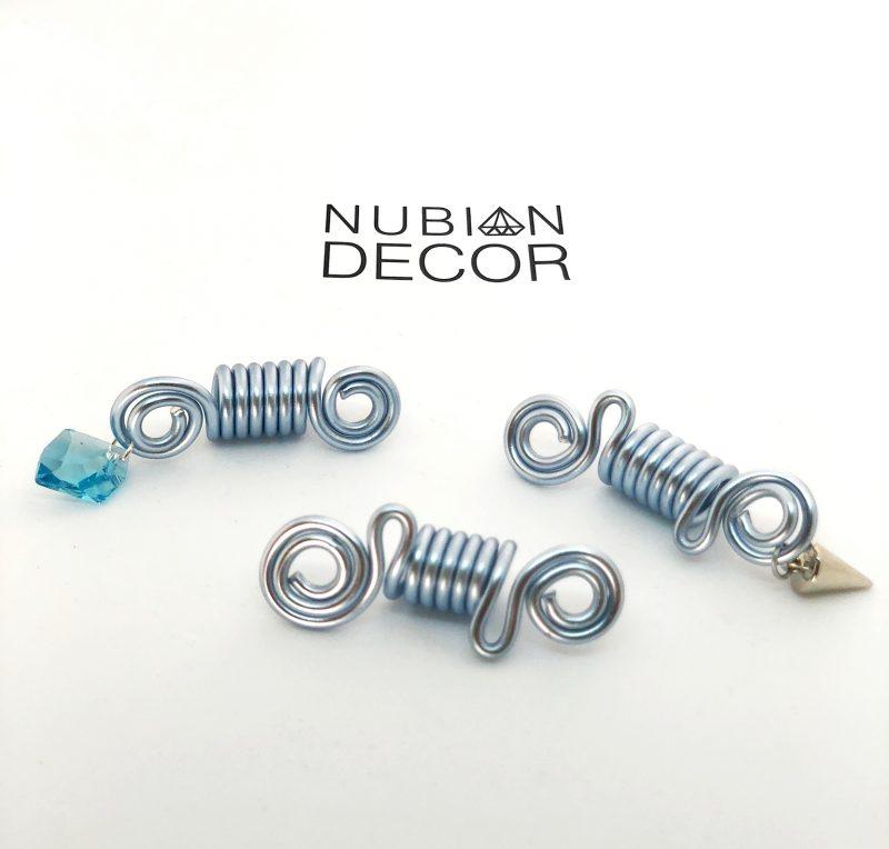 Nubian Decor Isabis Hair Accessories Hair Popp UK black hair shop