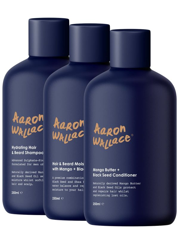 Aaron Wallace Aaron Wallace hair care system Hair Popp UK black Hair Shop
