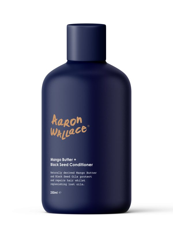 By Aaron Wallace Hair and Beard conditioner Mango Butter & Black Seed Conditioner Hair Popp UK Black Hair Shop