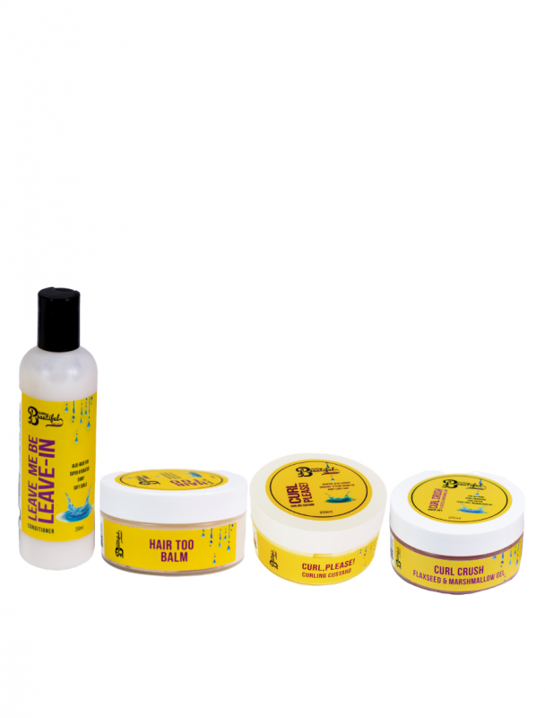 Bourn Beautiful Naturals Styling Kit - Hair Popp UK black hair shop