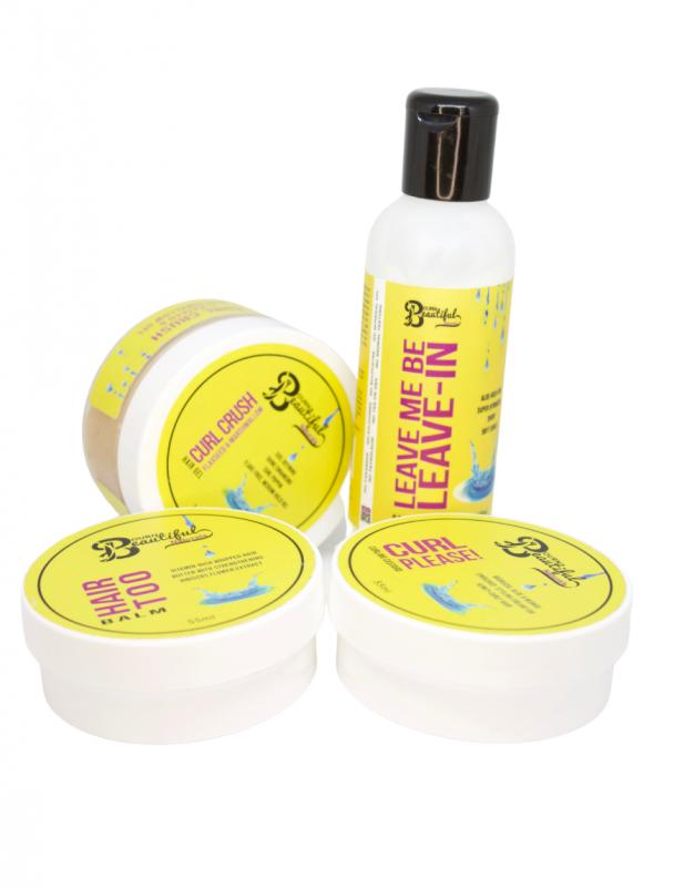 Bourn Beautiful Naturals Styling Kit - Hair Popp UK black hair shop