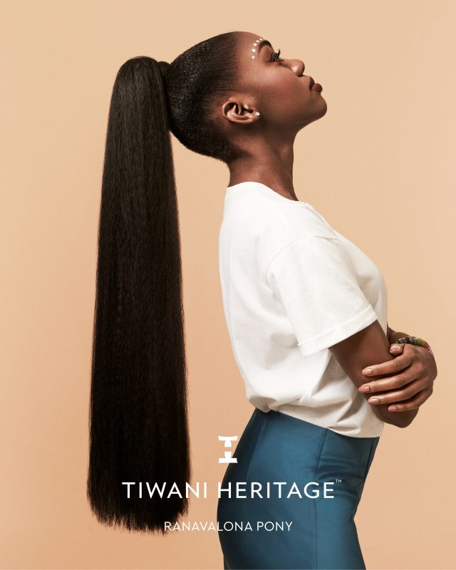 Ranavalona pony Tiwani Heritage on Hair Popp