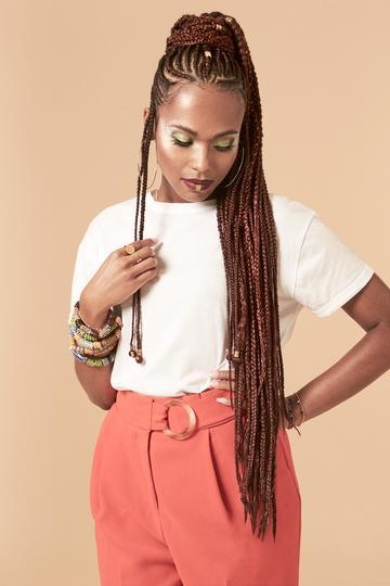 Tiwani_Heritage Candace braiding hair extensions on Hair Popp