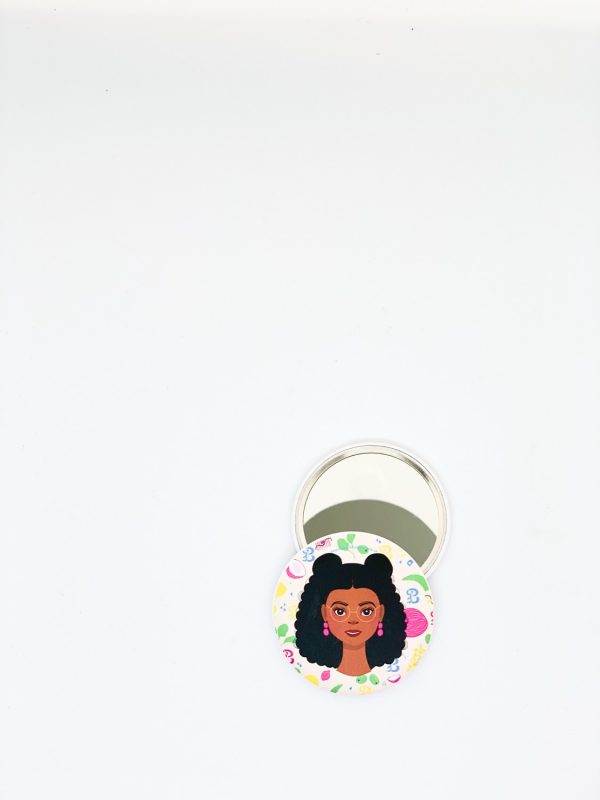 Curly Girls Pocket Mirrors - Kat Specs