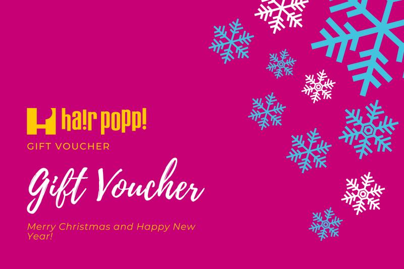 Hair Popp Gift Voucher
