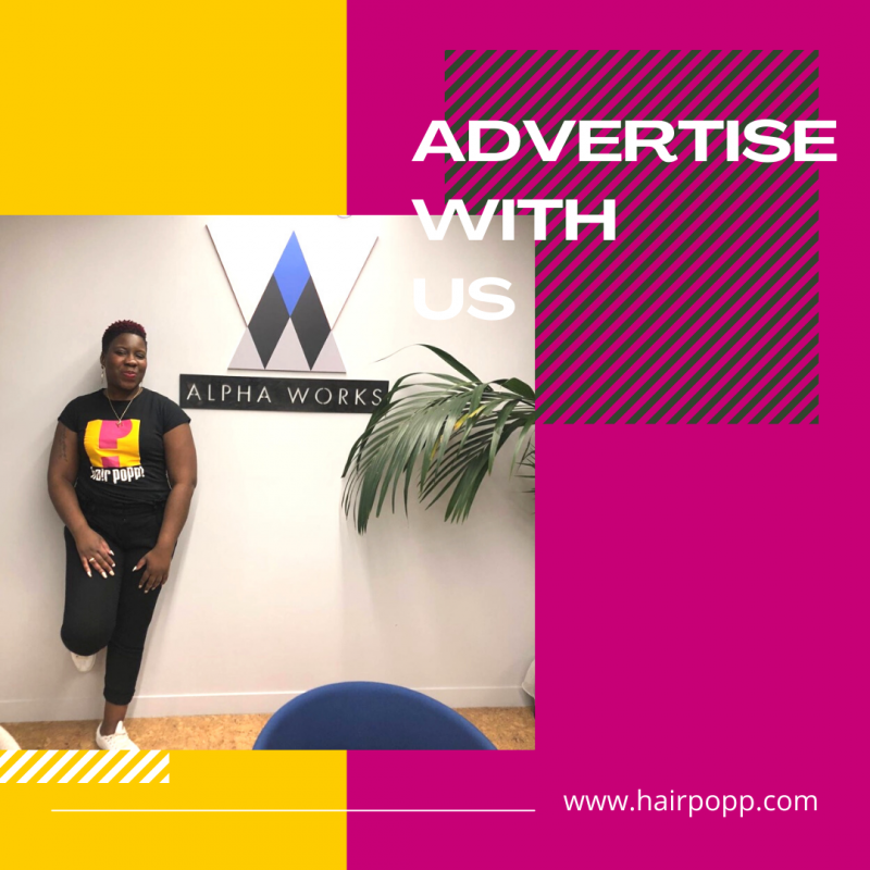 advertise with hair popp